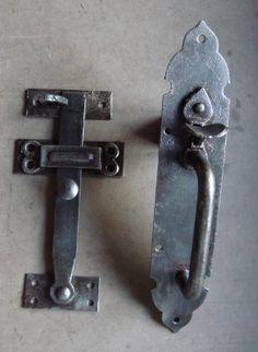 1920u0027s Iron Suffolk Thumb Latch Set Ref.92319 · Antique Door  HardwareAntique DoorsDoor ...