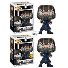 Mortal Kombat Sub-Zero Pop! Vinyl Figure Things are going to get extra chilly with this Mortal Kombat Sub-Zero Pop! The Mortal Kombat Sub-Zero Pop! Vinyl Figure stands about 3 tall and comes packaged in a window box. Mortal Kombat X, Sub Zero Mortal Kombat, Figurines D'action, Figurine Pop, Pop Vinyl Figures, Funko Pop Figures, Otaku, Harry Potter, Star Wars Shop