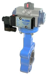 BI-TORQ automated butterfly valves