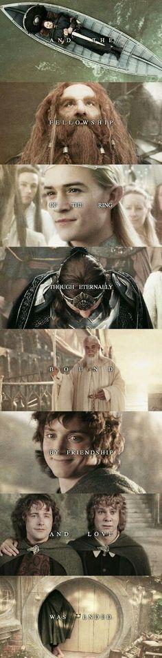 Imagen de frodo, hobbit, and Legolas