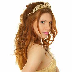 красивая прическа на выпускной !! Prom hairstyle with diadema
