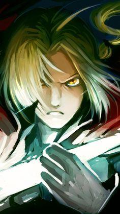 jas-tham, fullmetal alchemist, edward elric, art, anime
