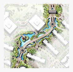landscape water corridor