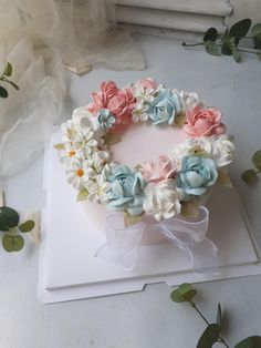 Chocolate Dipped Marshmallows, Vintage Cakes, Beautiful Birthday Cakes, Cake Making, Birthday Cake Decorating, Cake Boss, Buttercream Cake, Celebration Cakes, How To Make Cake