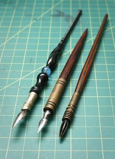 Dip Pens by rcannonp. The #dippens are so fascinating. The day of #penmanship is gone, at least for the most part. Sometimes I think I was born a century or two too late. http://tomblubaugh.net
