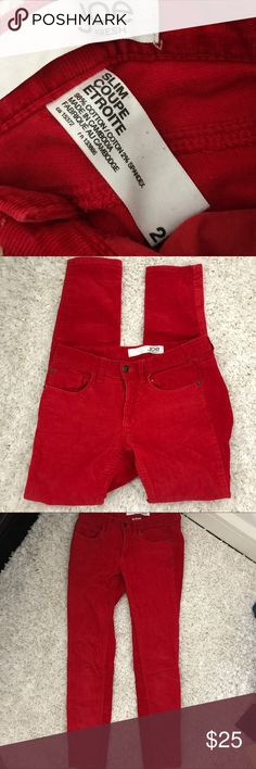 Joe Fresh Slim, Skinny Colored Jeans Jeans are in great condition Joe Fresh Jeans Skinny