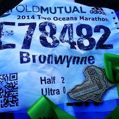 Two Oceans half marathon.