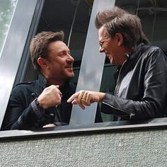 JoSi sitting in window, Paper Gods Great Bands, Cool Bands, Boys On Film, Nigel John Taylor, Kat Williams, Nick Rhodes, Simon Le Bon, After All These Years, Amazing Songs
