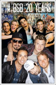 Backstreet Boys - no matter how old they get, they will always be sexy!!