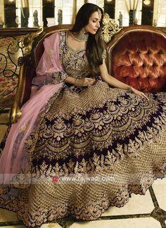 Shop For Indian Lehenga Choli at Utsav Fashion - The largest online collection of lehenga, ghagra, chaniya choli in latest stunning designs. Indian Wedding Lehenga, Indian Wedding Wear, Pakistani Wedding Outfits, Indian Bridal Outfits, Bridal Lehenga Choli, Indian Dresses, Wedding Attire, Latest Bridal Dresses, Designer Bridal Lehenga