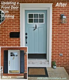 1000 images about front porch on pinterest front doors moldings. Black Bedroom Furniture Sets. Home Design Ideas