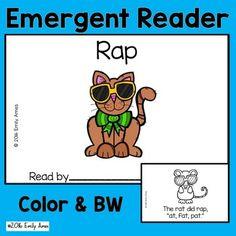 Rap Emergent ReaderThis emergent reader freebie is from my Emergent Reader…