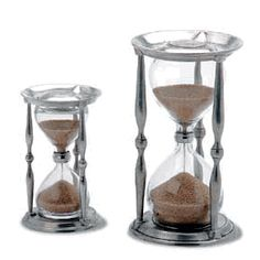 Ancient Coin Hourglasses by Match