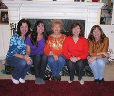 Sharon, Michelle, Me, Renee, Janet