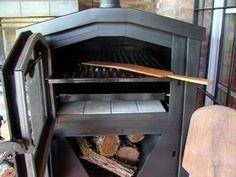 interior de horno de calor envolvente