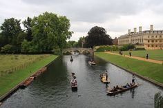 River Cam next to King's College, Cambridge