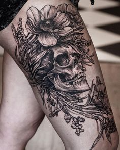 Skull tattoos are amongst the oldest and most popular tattoos worldwide. As Halloween is on the horizon, we have collected the best done so far. Enjoy!