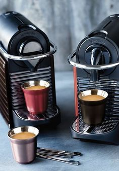 Add something elegant and innovative to your kitchen this season. The coffee lovers in your family are sure to love the Pixie Collection from Nespresso. Featuring compact machines and stylish serving cups, this collection is every espresso connoisseur's dream!