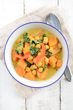 Scandi Home: Chickpea Curry