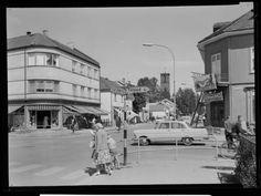 Lillestrøm - Fjeidberghjørnet 1960-tallet Mittet Street View, Journey, Pictures, The Journey