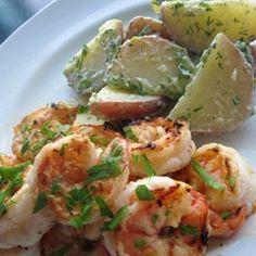Joy Bauer Lemon Garlic Shrimp