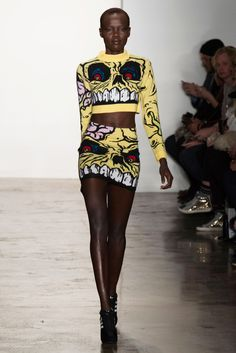 Jeremy Scott fall 2014 collection via The Cut