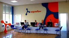 A New Service Centre For Aquafon Subscribers has Opened in Tkuarchal