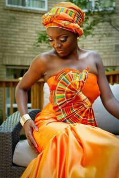 Beautiful for that African themed wedding!