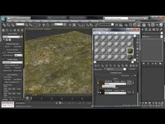 UVW Channels and Tiles - 3DS Max Video Tutorial - YouTube
