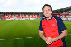 The former fly-half returns as a coach and hopes to take the Scarlets back to the glory days Rugby News, Wales Rugby, Stephen Jones, Rugby Players, Scarlet, Coaching, Future, Sports, Mens Tops