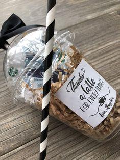 Coffee Gift Card Holder, Teacher Appreciation, Thank You Gift, Starbucks Gift Card Holder Small Thank You Gift, Thank You Gifts, Simple Gifts, Easy Gifts, Appreciation Thank You, Customer Appreciation, Free Starbucks Gift Card, Staff Gifts, Teacher Gifts