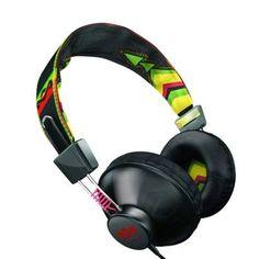 Bob Marley Positive Vibes Headphones (Rasta) by House of Marley