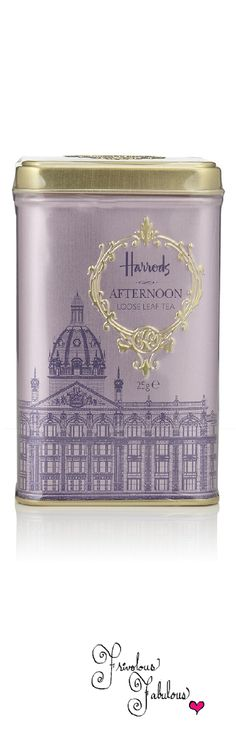 Frivolous Fabulous - Harrods Loose Leaf Tea