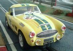 El Austin Healey 3000 MK III de Ninco en mi artículo del blog Slot México.