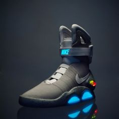 """The 2011 Nike Mag shoes from """"Back to the Future II"""""""