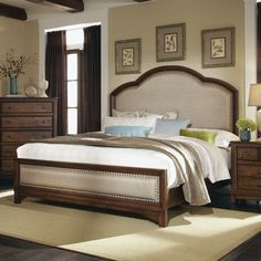 Darby Home Co Glennville Upholstered Panel Bed
