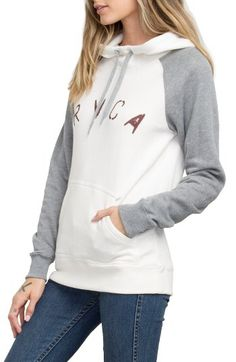 RVCA RVCA Arch Stencil Hoodie available at #Nordstrom