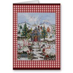 Joyful Merry Christmas card