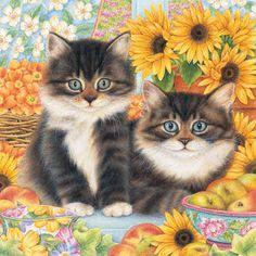 Sunflower Duet...Anne Mortimer