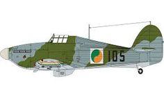 Hawker Hurricane Irish Air Corps Baldonnel aerodrome, Ireland 1945 Hawker Hurricane, Defence Force, Color Profile, Rc Model, Dieselpunk, Military Aircraft, Wwii, Air Force, Ireland