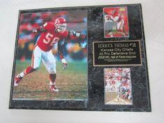 Derrick Thomas Kansas City Chiefs Cards