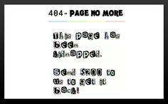 Ransom 404 Page No More  -------------  Wil je minder 404's? of gewoon een betere website? Neem dan eens vrijblijvend contact op met Budeco http://budeco.nl/contact