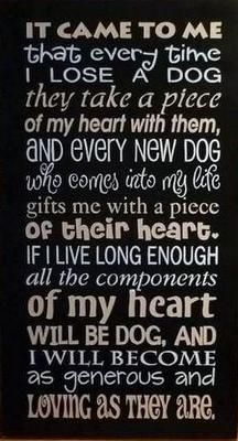 I love this... In memory of my Marmaduke (Great Dane)... and my two new babies Lillie and Thor (English Mastiffs)