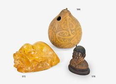 Gourd decorated with a… - Maori & Oceanic Art - Art+Object - Antiques Reporter