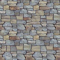 Wall cladding stone mixed size seamless 07990