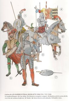 Western European Soldiers in Italy, Early Century Medieval Knight, Medieval Armor, Medieval Fantasy, Knight In Shining Armor, Knight Armor, Military Art, Military History, Renaissance Time, Early Modern Period