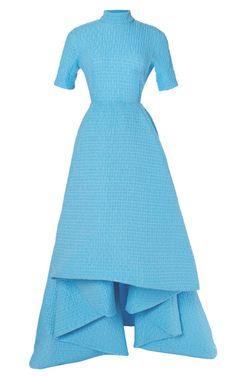 Short Sleeve Miranda Dress by Emilia Wickstead for Preorder on Moda Operandi