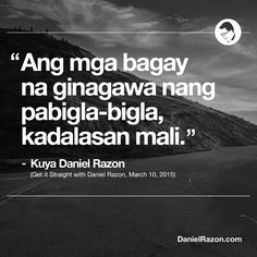 Biblical Quotes, Wise Quotes, Tagalog Quotes, True Words, Thought Provoking, Messages, Thoughts, Sayings, Places