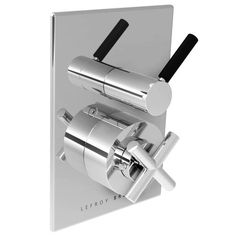 Cross Handle Thermostatic With Zu Lever Flow Control Trim Onl by Lefroy Brooks