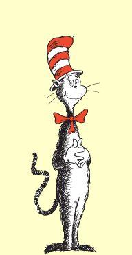Bookmark cat hat in printable Keep Healthy Eating Simple